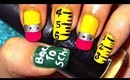 Back to school-nailart tutorial.... :-)