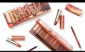 NEW! Urban Decay Naked Heat Palette | SNEAK PEEK
