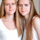 My twin sister and I (: