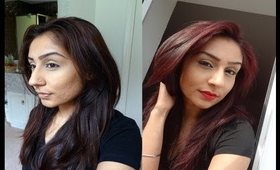 How to: from brown to cherry red (la riche directions rubine)
