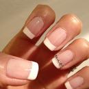 Classic Wedding nail look
