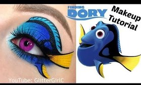 Finding Dory Makeup Tutorial