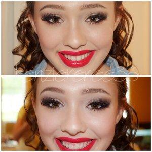 Prom makeup I did.