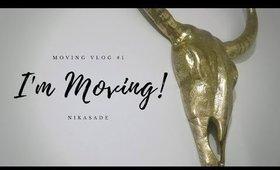 I'm Moving! | MOVING VLOGS