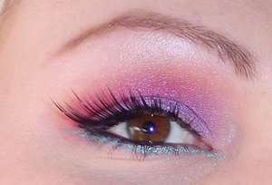 Pink, Purple and Red EOTD
