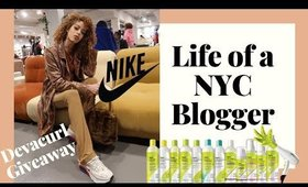 NYC VLOG: Devacurl GIVEAWAY, Nike Event, Showfields & more! AlexistheG