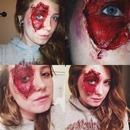 Staple Face SFX makeup (Part 1)