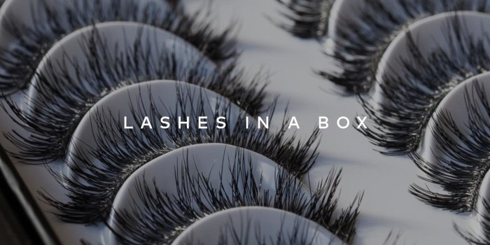 LASHES IN A BOX has full, fluttery, 100% cruelty-free lashes – shop now!