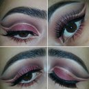 Berry-Toned Autumn Inspired Cut Crease
