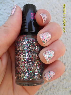 Wet N Wild Fast Dry- Party of Five Glitters