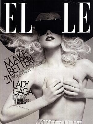 Lady Gaga -  Elle Magazine