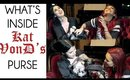 What's In Kat VonD's Purse with Kandee