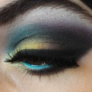 Colorful makeup look 2