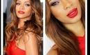 Rihanna Grammy Inspired Makeup Tutorial