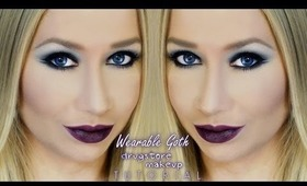 Wearable Goth Fall Drugstore Makeup Tutorial