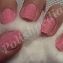 Pink Velvet Nails