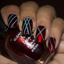 Jewelry Red Strips