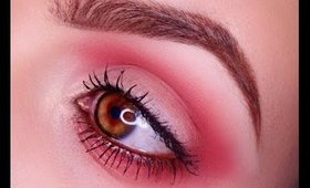 Red Smokey Eye Tutorial