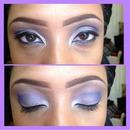 Purple Eye Look