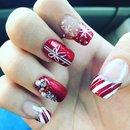 My holiday nails 😍