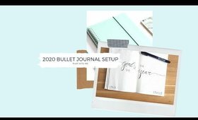 Bullet Journal 2020   Préparer son Bullet pour la nouvelle année  PLAN WITH ME