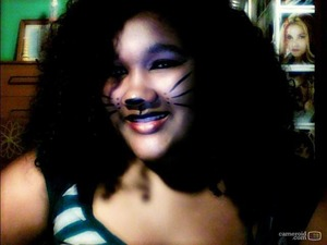 Decided I wanted to be a cat.