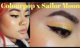 Quick Eye Tutorial: Reflective Yellow Lids (Sailor Moon x Colourpop Palette) | Victoria Briana