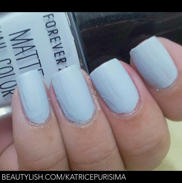 Forever 21 Matte Nail Color In Quot Light Blue Quot Katrice P S