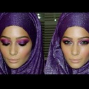 Pinky Purple Smokey Eye
