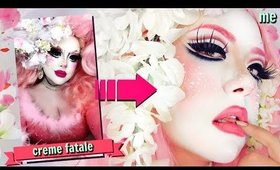 MY FIRST DRAG QUEEN TRANSFORMATION...into Creme Fatale!