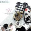 Crown Nail Part, Alice's Adventures in Wonderland nail art!