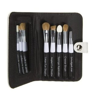 Sonia Kashuk Essential Eye Kit with Case- 6 Pieces