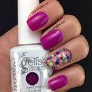 Gelish Tahiti Hottie Dots