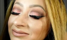 COLOURED RAINE EYESHADOW TUTORIAL - SHORT CAKE BRIGHT CORAL