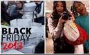 CRAZY 2013 BLACK FRIDAY SHOPPING (VLOG)