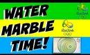 OLYMPICS WATER MARBLE NAILART | Dearnatural62