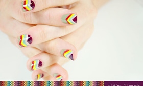 Missoni-Inspired Manicure Tutorial