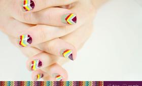 Missoni-Inspired Manicure Tutorial