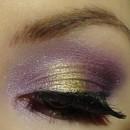 Glamour Gold & Purple