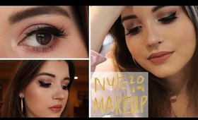 Ready for NYE 2019? New Year's Eve 2019 Party Makeup Tutorial | Smokey Eye, Winged Liner Makeup Look