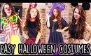 Last Minute Halloween Costumes   Easy & Inexpensive