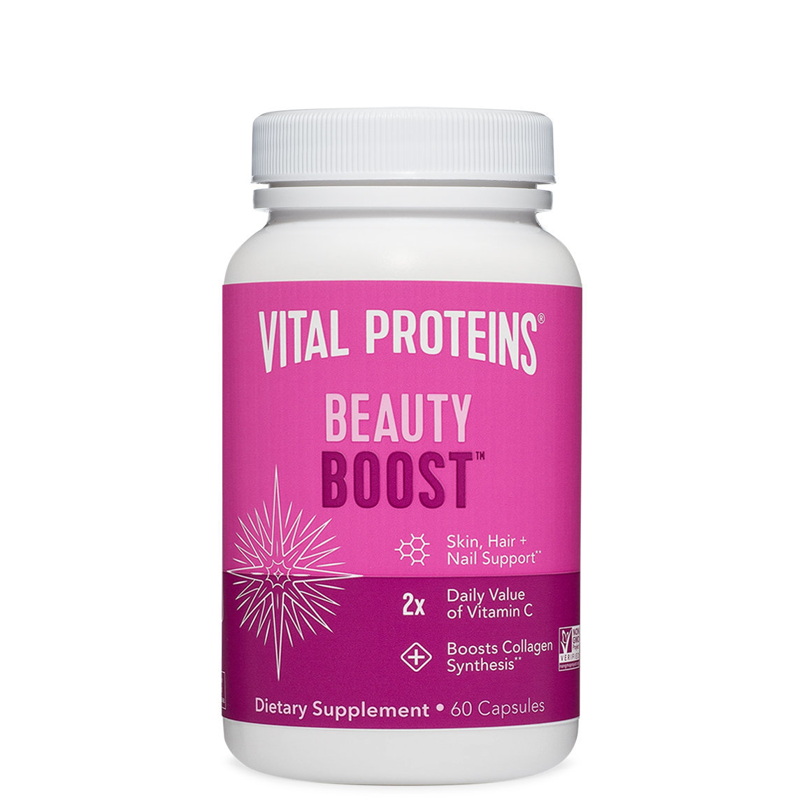 Vital Proteins Beauty Boost Capsules alternative view 1 - product swatch.