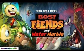 BEST FIENDS WATER MARBLE NAILART | Dearnatural62