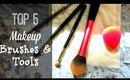 Top 5 Makeup Brushes | Current Face & Eye Tool Favorites!
