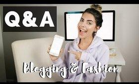 Q&A // How Do You Start a Blog, Blogger Tips, I Quit My Full Time Job