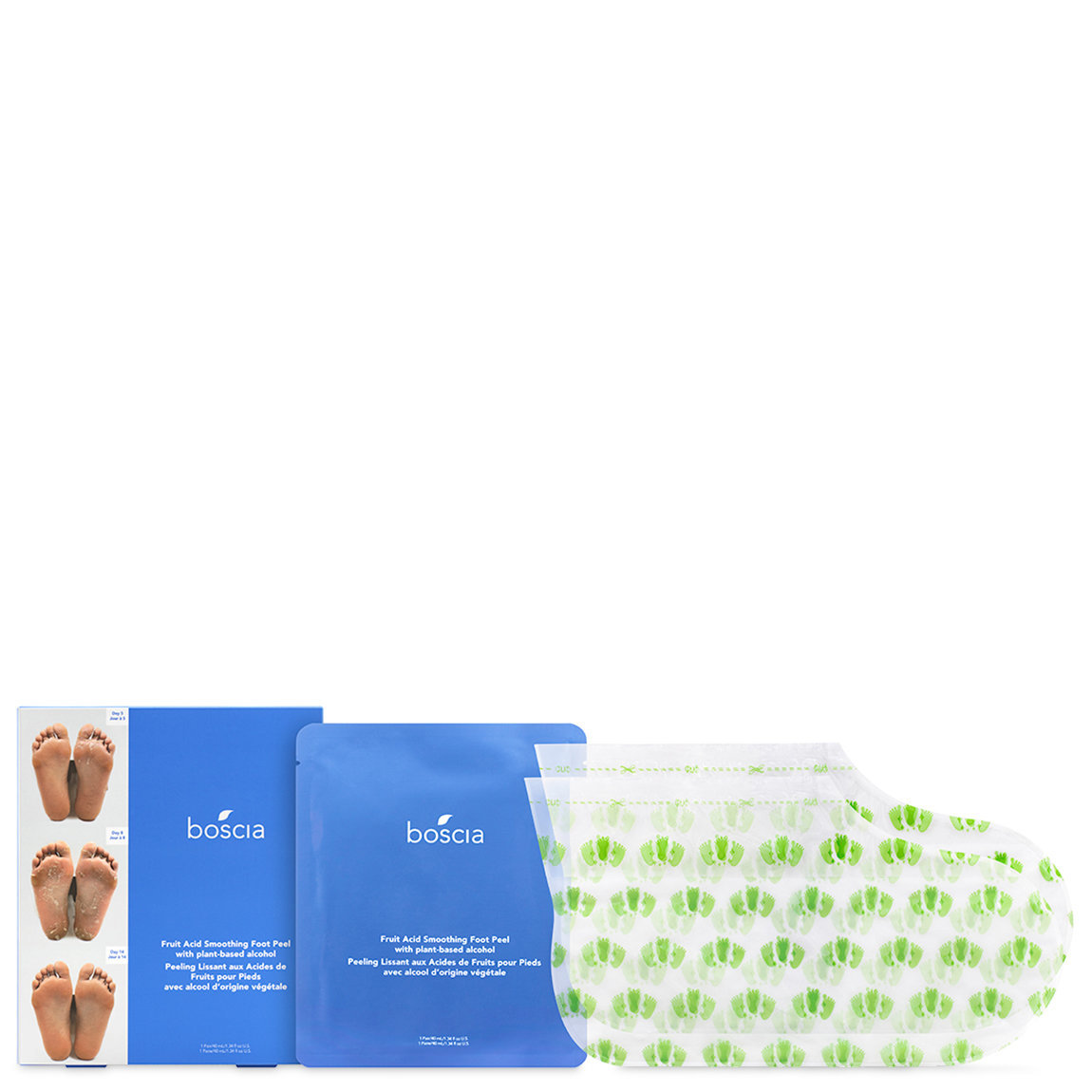 boscia Fruit Acid Smoothing Foot Peel alternative view 1 - product swatch.