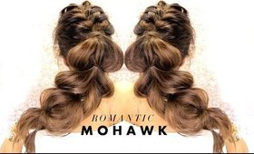 △ Cutest MOHAWK BRAID You've Ever Seen! ★ Easy Hairstyles for Medium Long Hair   MakeupWearables