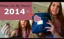 What's in My Purse 2014