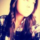 Curled hair.