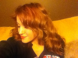Soft waves with curling iron!